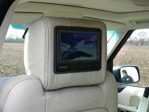 Range Rover Sport Vogue Rear Seat Entertainment Rosen DVD