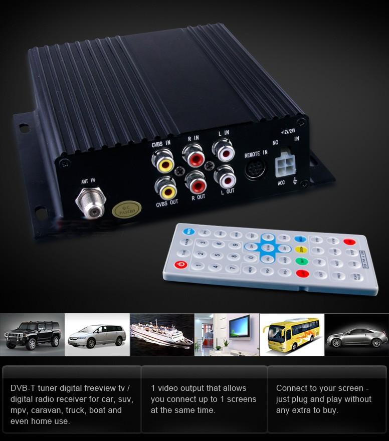 ANT536 Magnetic Roof Mount Car 96db Digital TV DVB-T F-Type ANT-536 Necvox