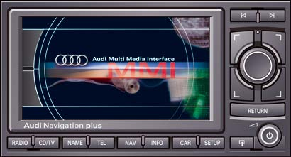 Audi AUDUTVSRNSE RNSE Navigation Plus Car Digital DVBT - Audi rns e