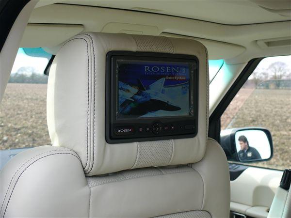 Land Range Rover Evoque Rosen Av7500 Rear Seat In Car Dvd