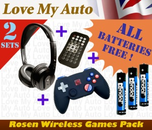 Rosen Accessory Games Pack (2)